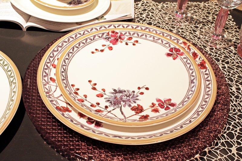 rose viola gerani arancioni