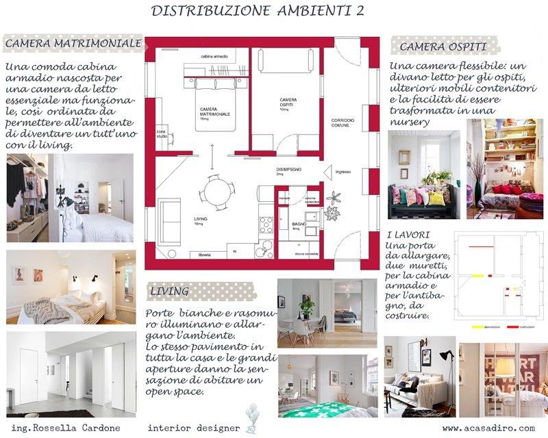 Progettazione d 39 interni a casa di ro for Progettazione di architettura online