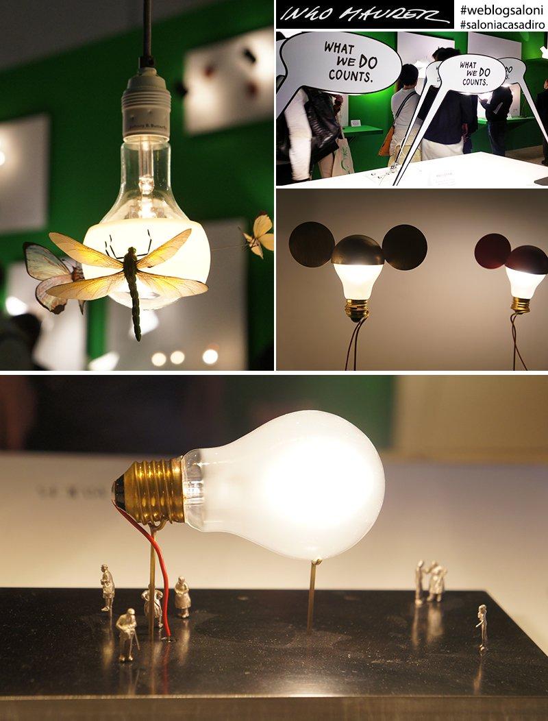 Tutte le luci della milano design week a casa di ro for Ingo maurer lampade