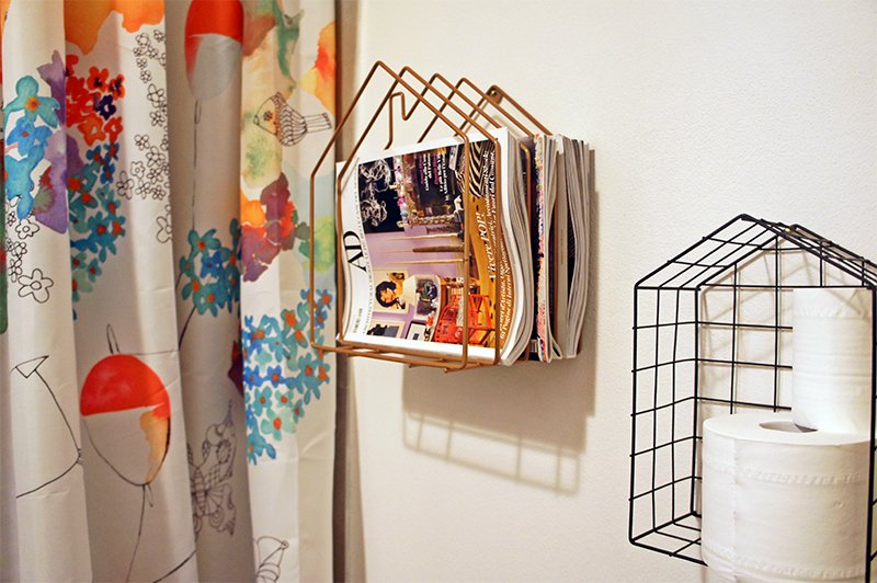 Arredamento Nordico Bagno: My home tour bagno ospiti a casa di ro ...
