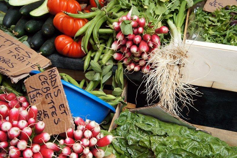 mercato Cours Saleya Nizza