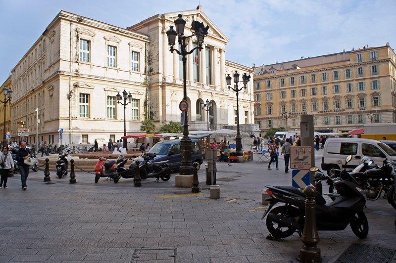 Place Masséna Nizza