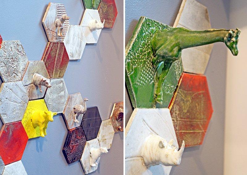 ceramiche mattonelle esagonali