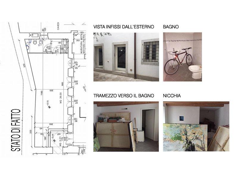 Il progetto di un piccolo loft a casa di ro for Progetto di casa loft