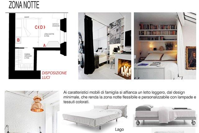 mini loft di 40 mq il living a casa di ro
