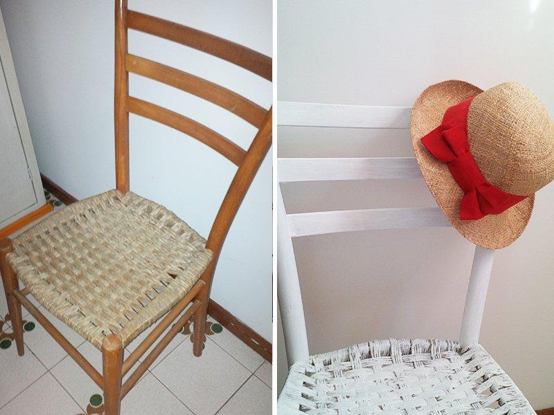 recuperare paglia vecchia sedia