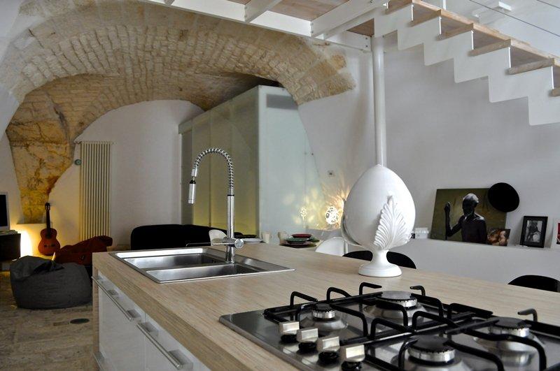 Arredare con stile una piccola casa a ostuni a casa di ro for Progetto casa piccola