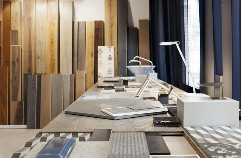pavimenti materiali Bologna showroom