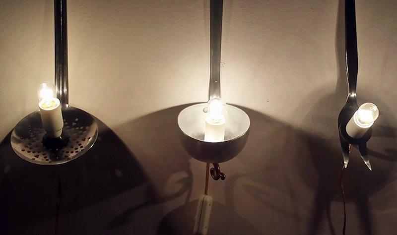 Di riciclo artigianato e luce a casa di ro