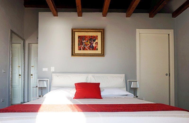 Studio palette colori camera da letto a casa di ro for Studio in camera da letto