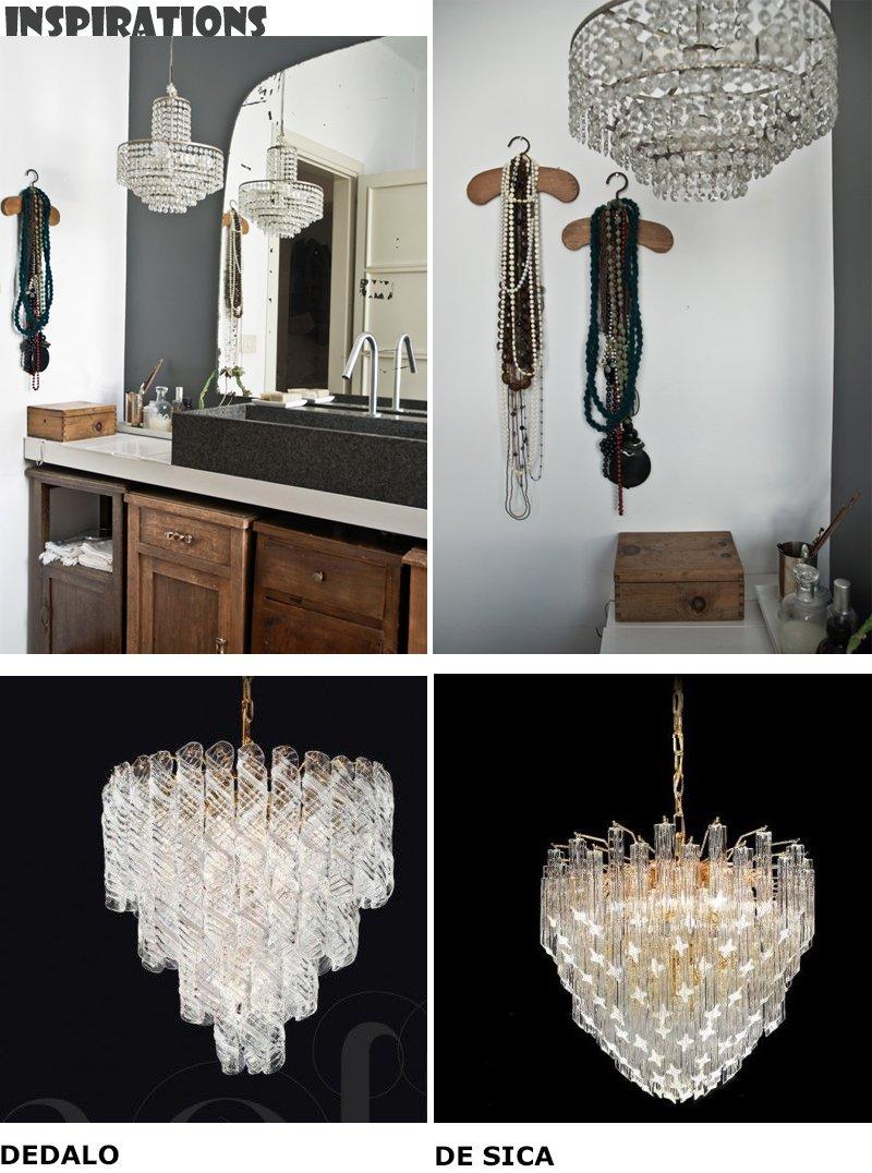 Lampadari da bagno classico la scelta giusta variata sul design della casa - Lampadari da bagno moderni ...