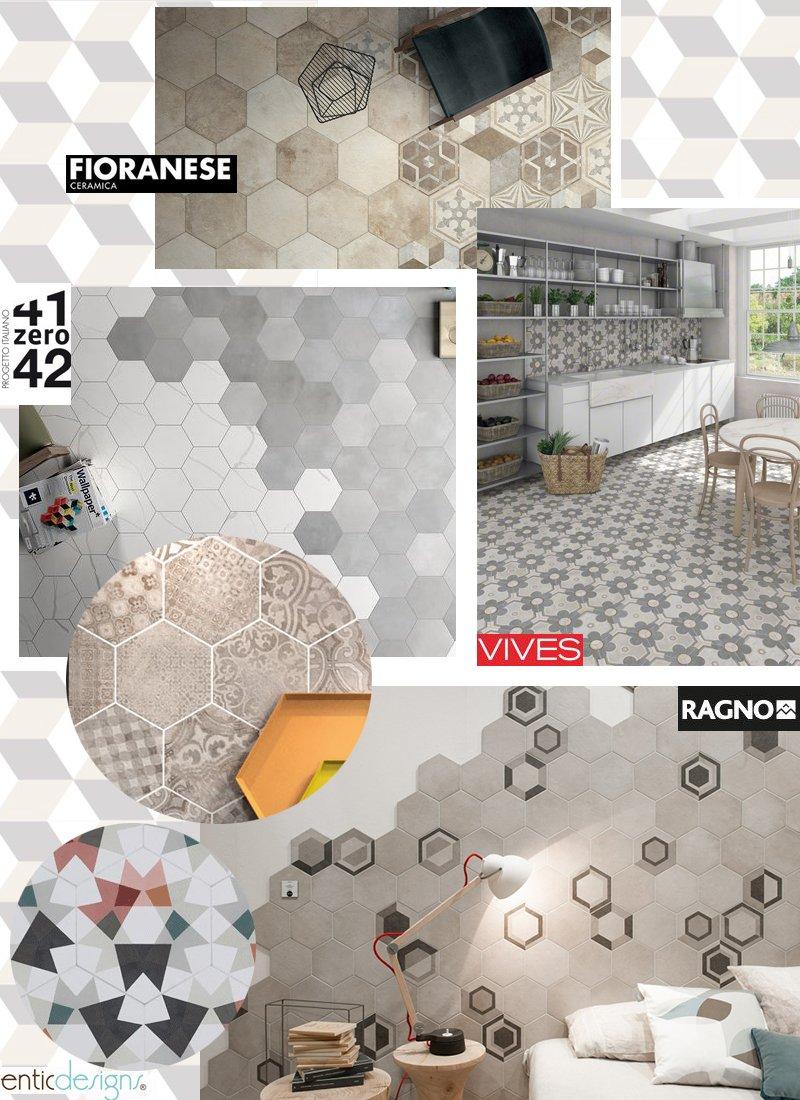 Non solo cementine a casa di ro for Piastrelle con decori