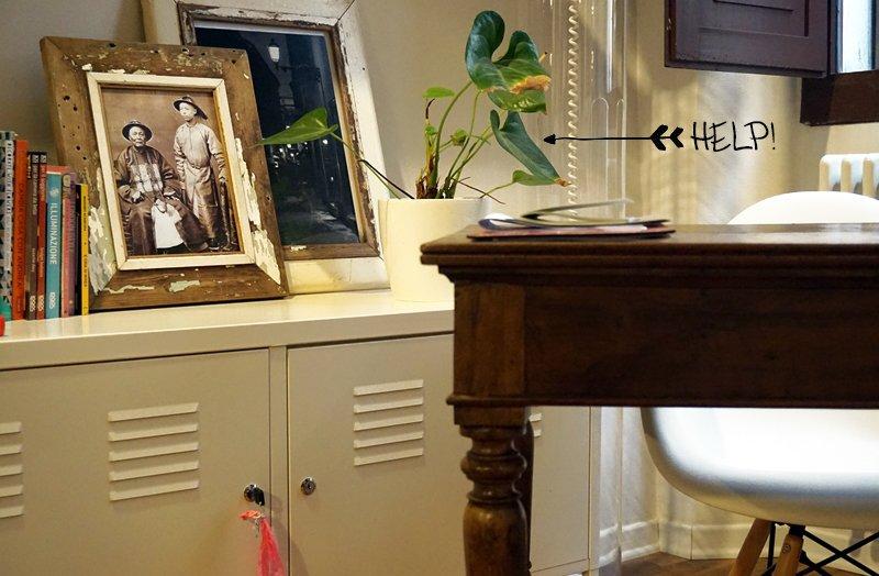 zona studio in soggiorno - A Casa di Ro