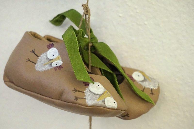 scarpette neonato handmade