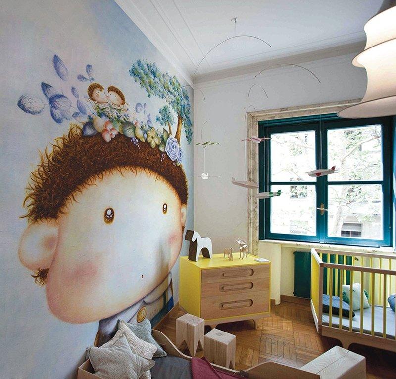 wall paper nursery
