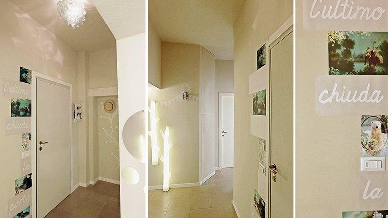 Illuminazione Di Un Corridoio : Come illuminare il corridoio a casa di ro