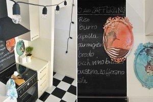 vernice lavagna in cucina