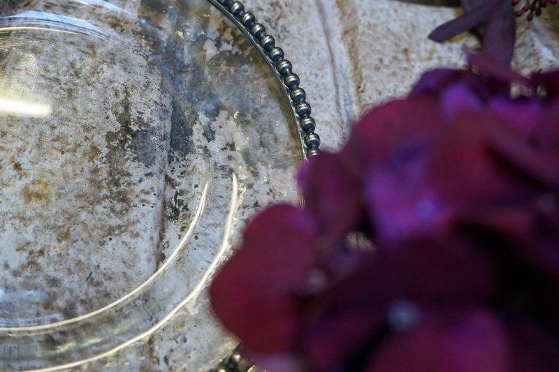 mise en place argento vetro