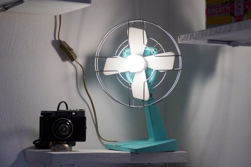 ventilatore riciclato