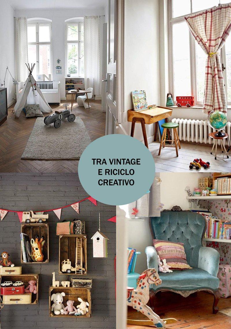 La cameretta di un duenne tra stile nordico e vintage   a casa di ro