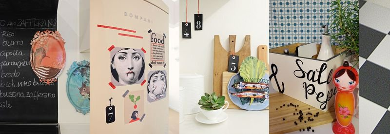 come decorare il frigorifero