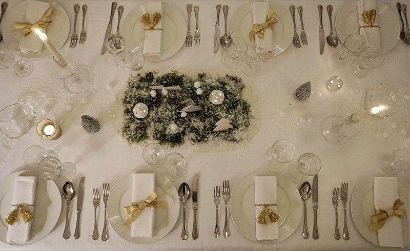galateo tavola capodanno