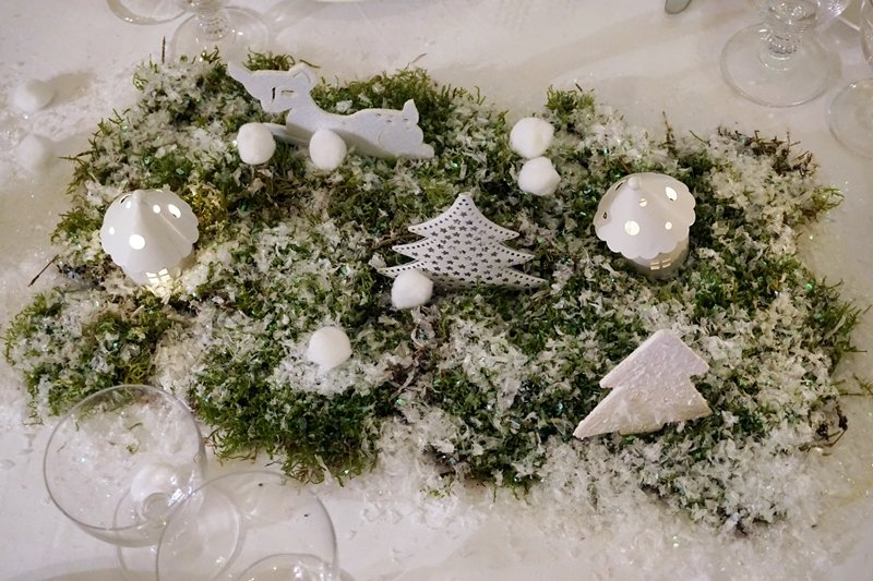 tavola Natale stile nordico