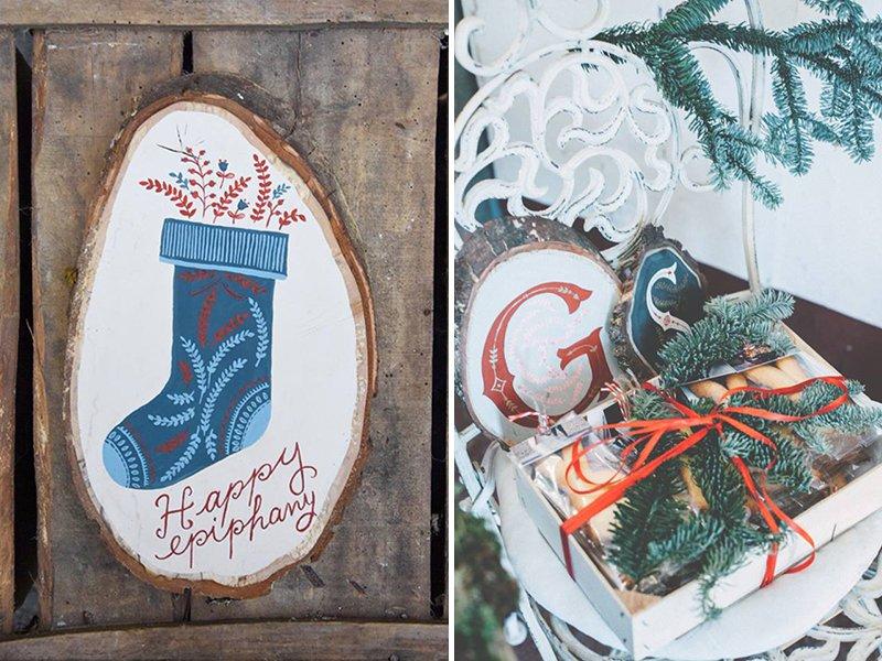 Decorazioni natalizie in legno a casa di ro - Decorazioni natalizie in legno ...