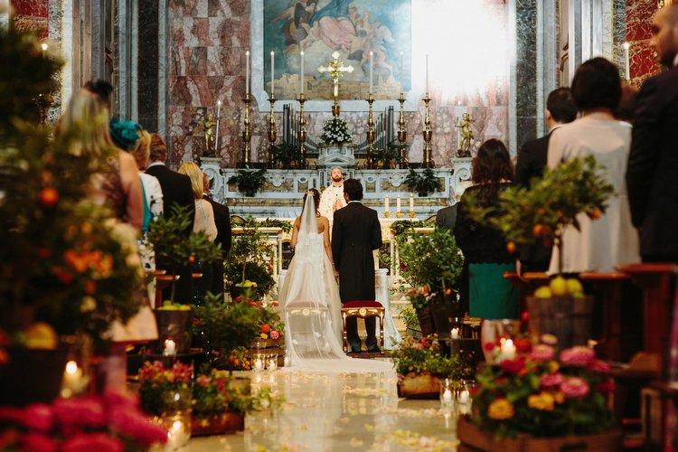 come decorare chiesa matrimonio