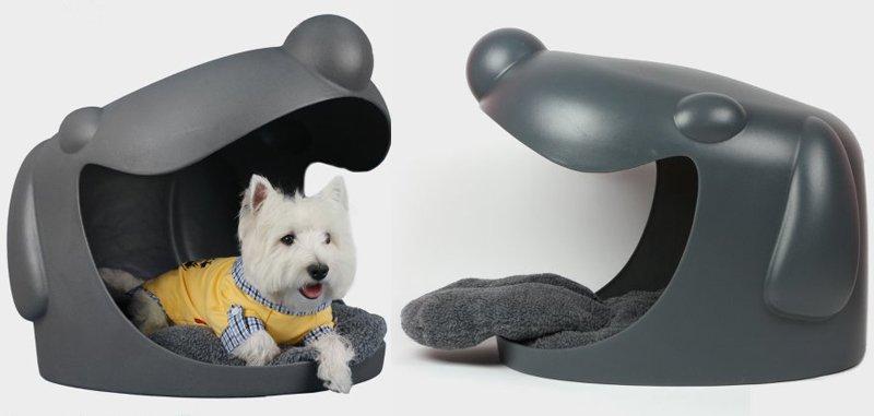 cuccia forma di cane