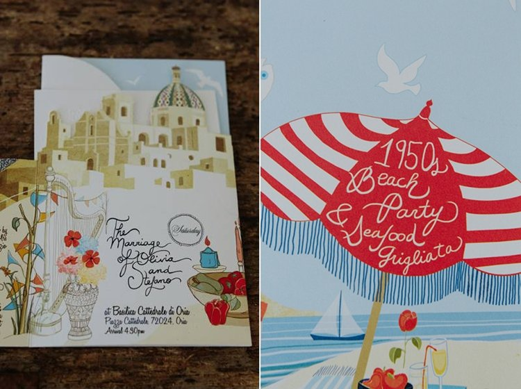 stationery country wedding