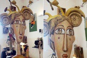 arte, Sicilia e cartapesta