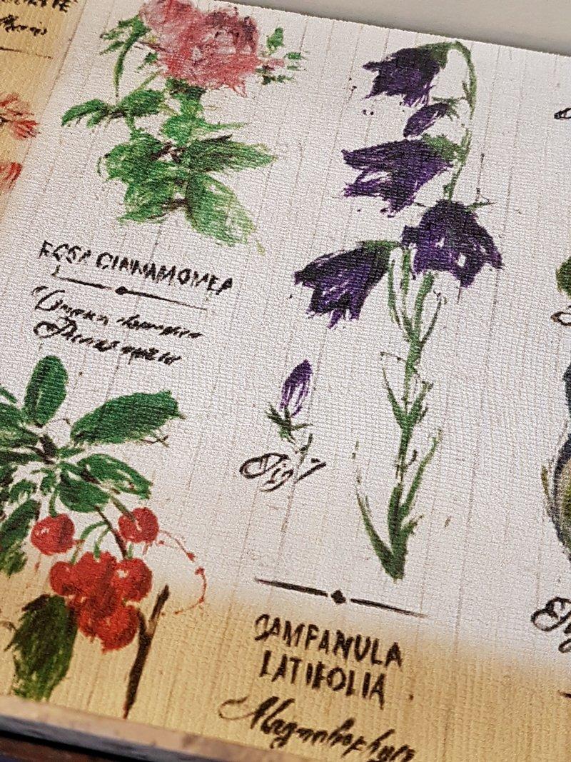 carta parati giardino