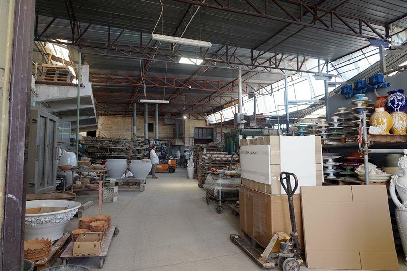 produzione ceramica