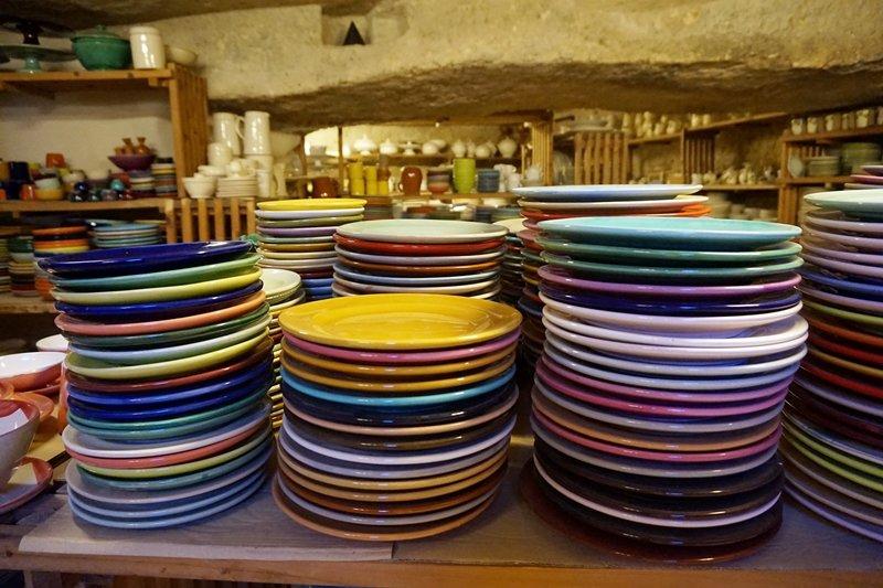 servizio piatti ceramica