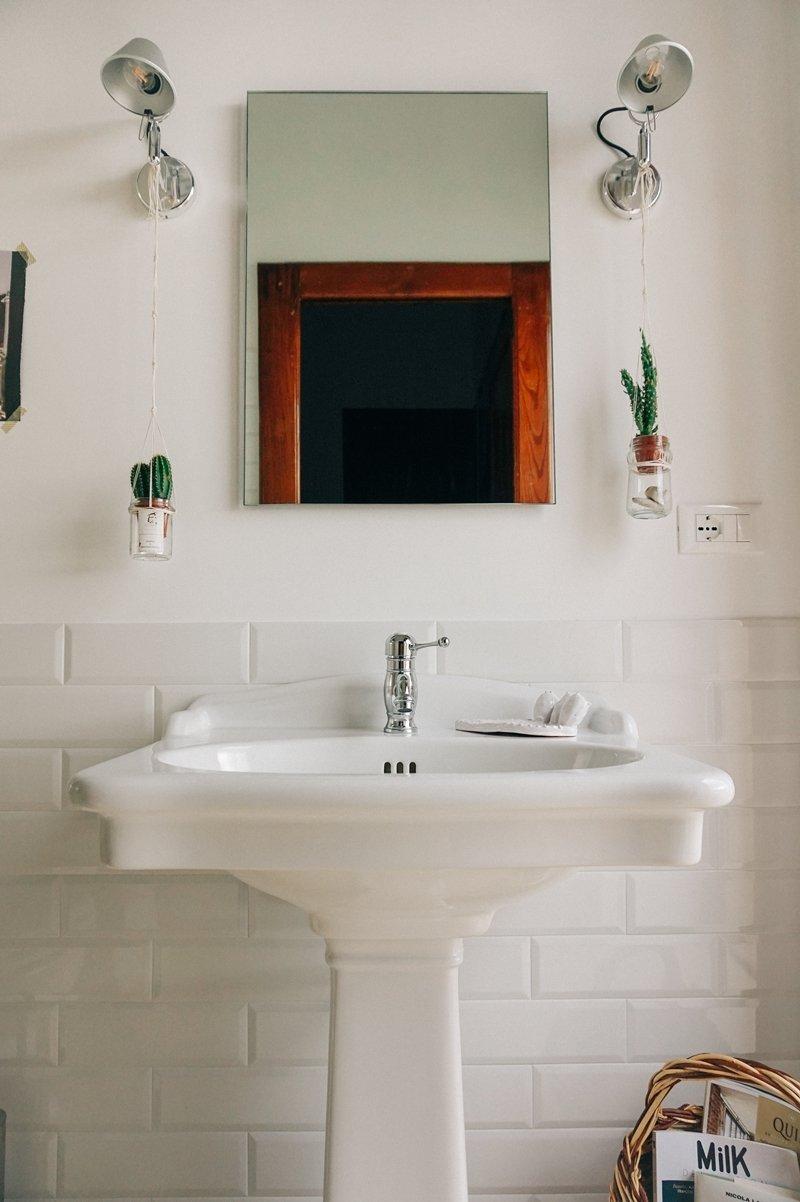 progetto di un moderno bagno rétro - A Casa di Ro