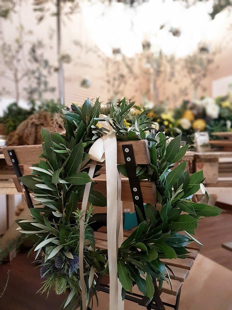 decorare sedie sposi