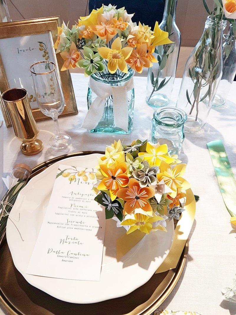 decorazioni carta matrimonio