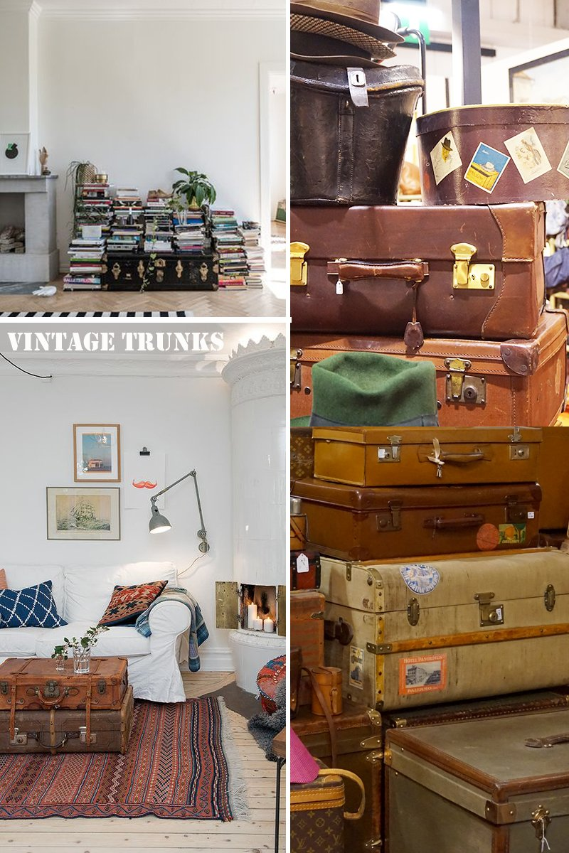 recuperare valigie vintage