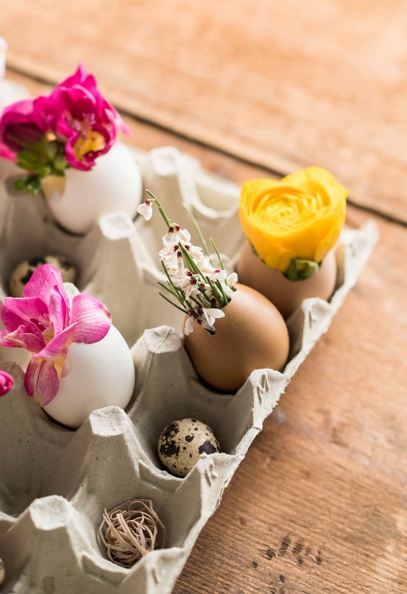 riciclare porta uova pasqua