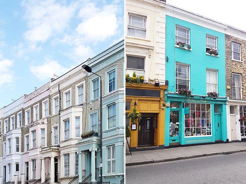 case tipiche londinesi