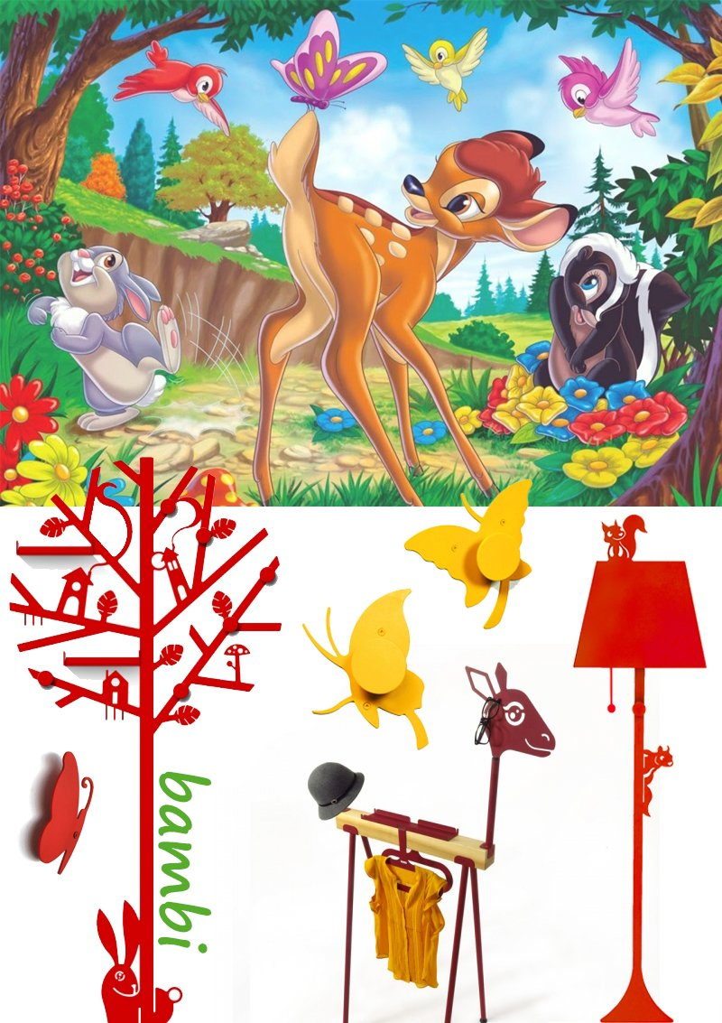 Bambi cameretta