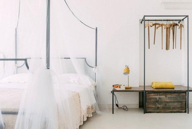 dormire a Ostuni: casa Albeda e a zona notte