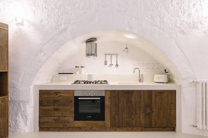 cucina legno resina