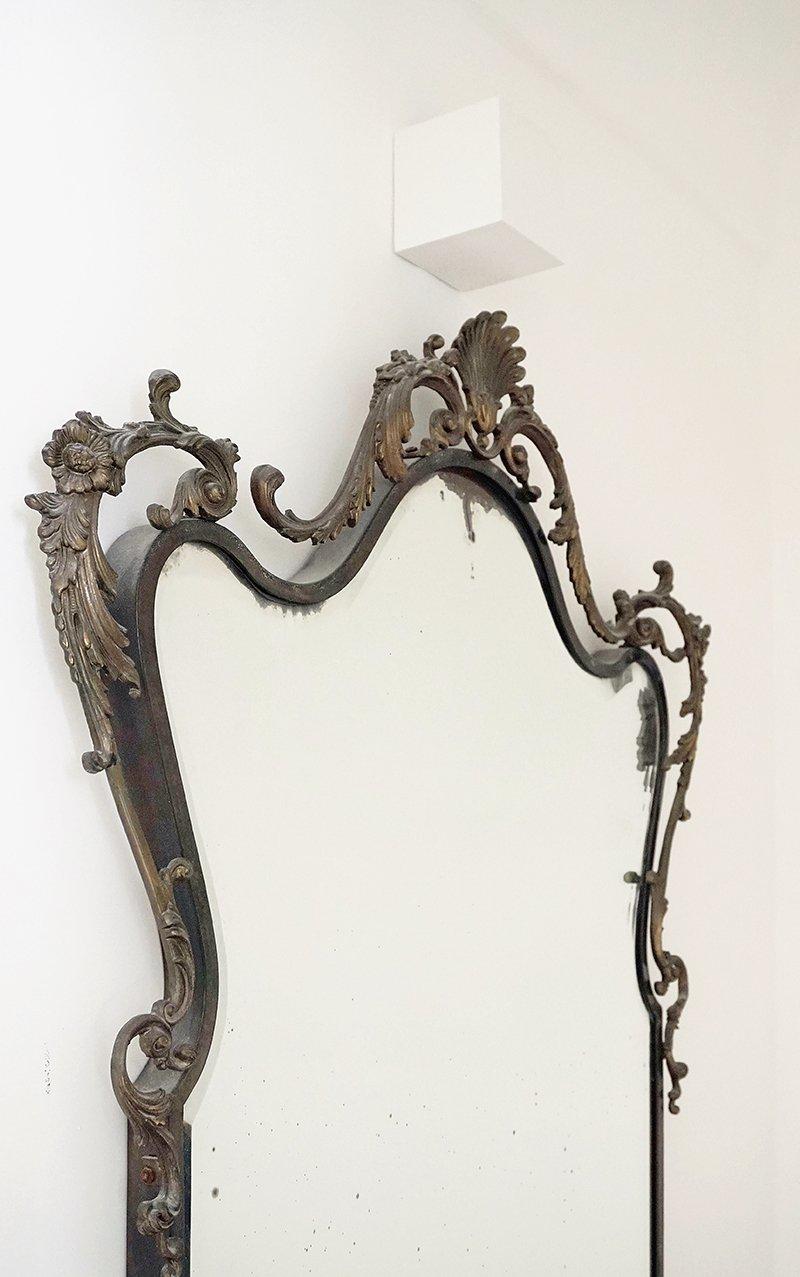 specchio ferro battuto
