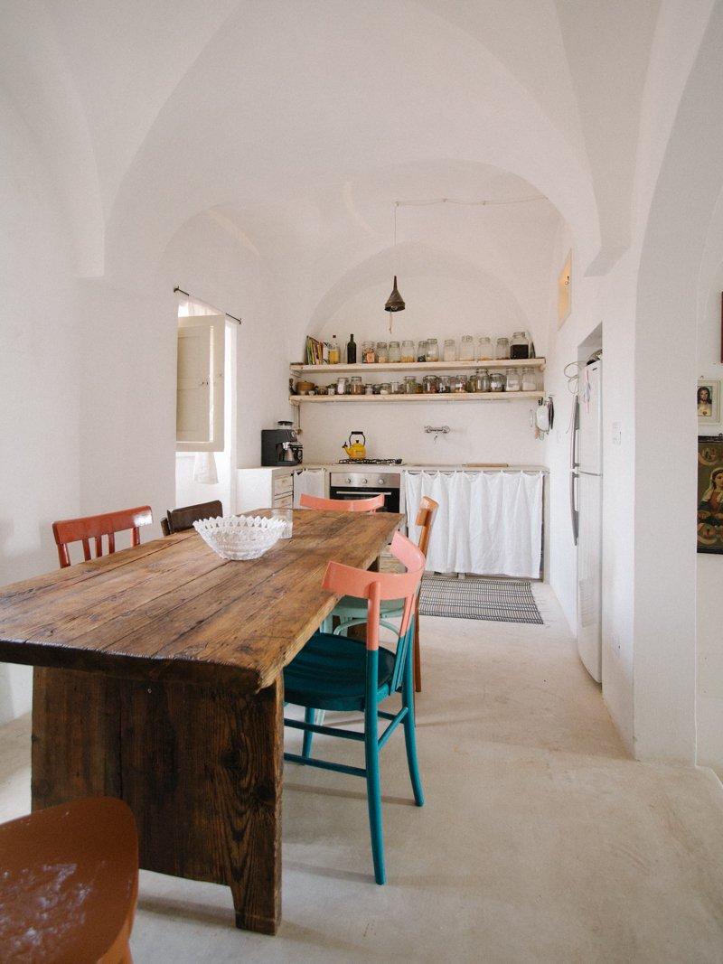 Storia di una casa in puglia e della sua cucina a casa di ro for Piani di una casa di pensionamento storia
