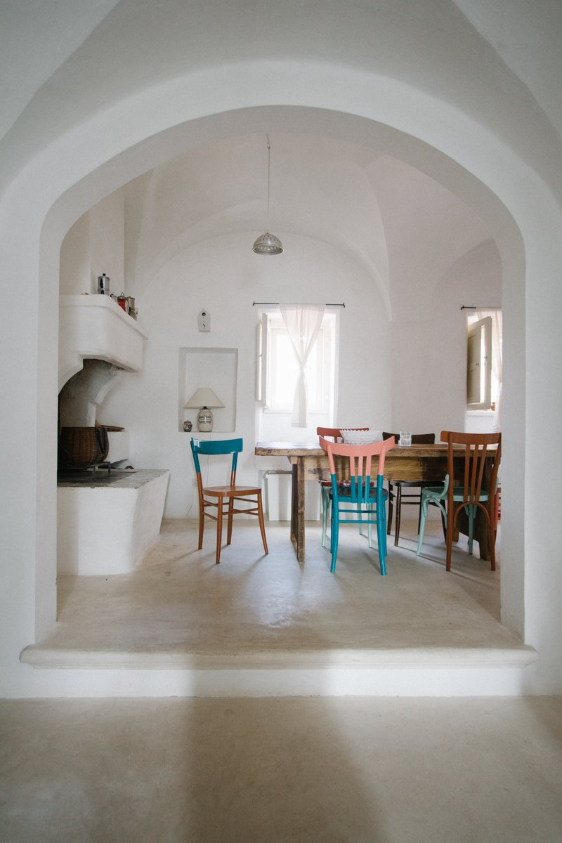 Storia di una casa in puglia e della sua cucina a casa di ro for Layout di una casa di una storia