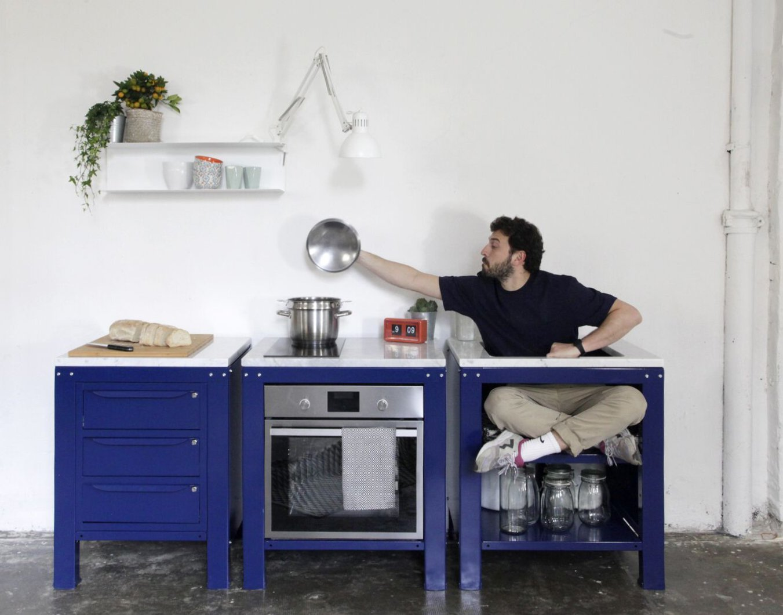 Very Simple Kitchen, modularità in cucina - A Casa di Ro