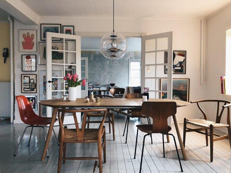 sedie diverse tavolo