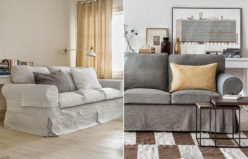 Bemz di come trasformare casa con fodere per divani ikea - Fodere divano ektorp ikea ...
